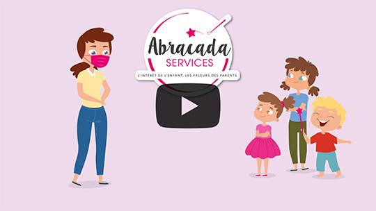 Video - La sortie de l'école, le gouter, le bain, Abracada s'occupe de tout